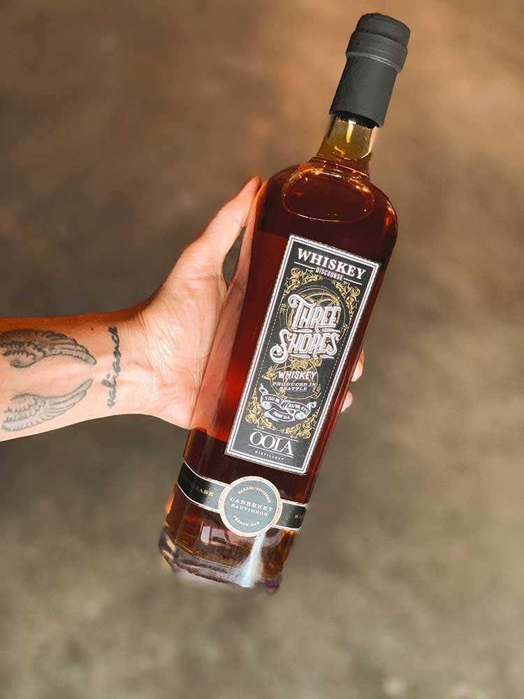 OOLA Three Shores Black Label Whiskey